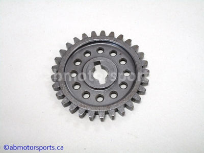 Used Arctic Cat ATV 650 H1 OEM part # 0812-002 driven oil pump gear for sale
