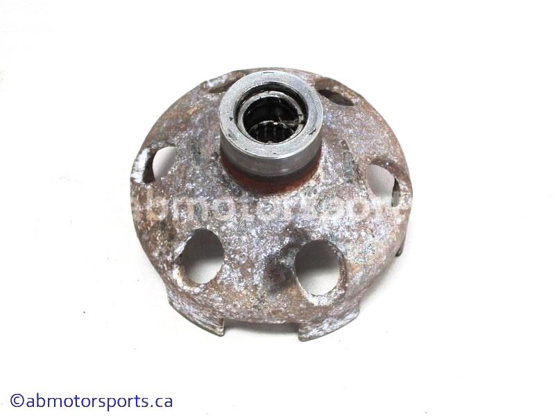 Used Arctic Cat ATV 650 H1 OEM part # 0820-036 recoil starter cup for sale