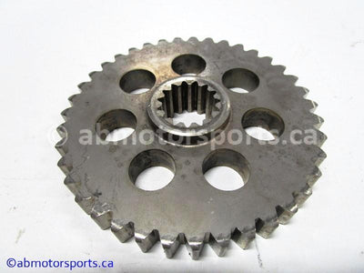 Used Arctic Cat Snow COUGAR 500 OEM part # 0107-220 lower chain case gear for sale