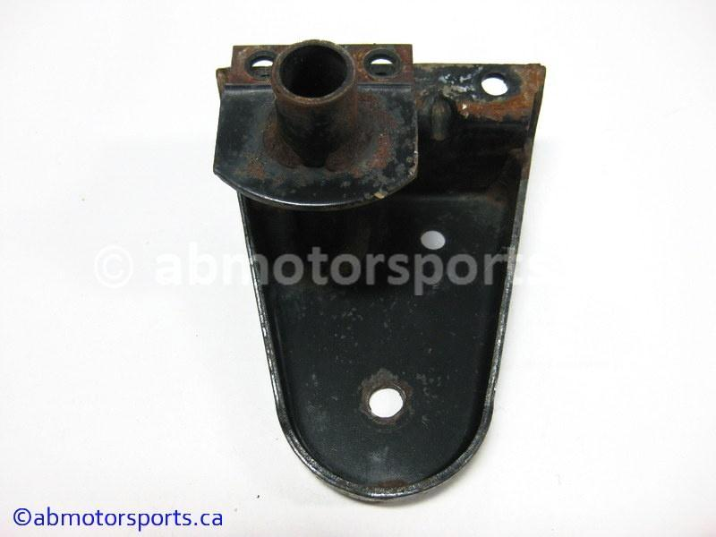 Used Arctic Cat Snow COUGAR 500 OEM part # 0704-005 left wheel mount bracket for sale