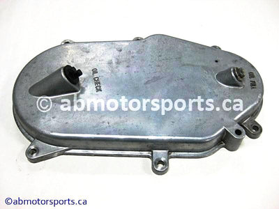 Used Arctic Cat Snow ZR 900 OEM part # 7996-258 chain case cover for sale