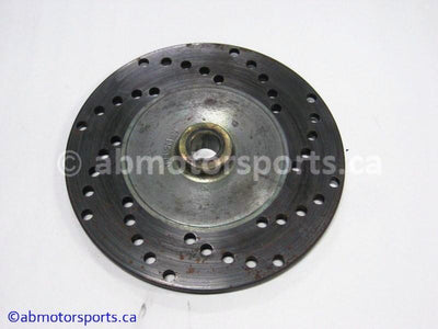 Used Arctic Cat Snow ZR 900 OEM part # 1602-205 brake disc for sale