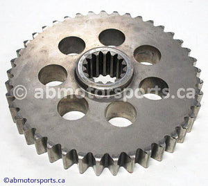 Used Arctic Cat Snow ZR 900 OEM part # 1602-119 lower chain case reverse sprocket for sale