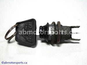 Used Arctic Cat Snow ZR 900 OEM part # 0609-286 ignition switch with key for sale