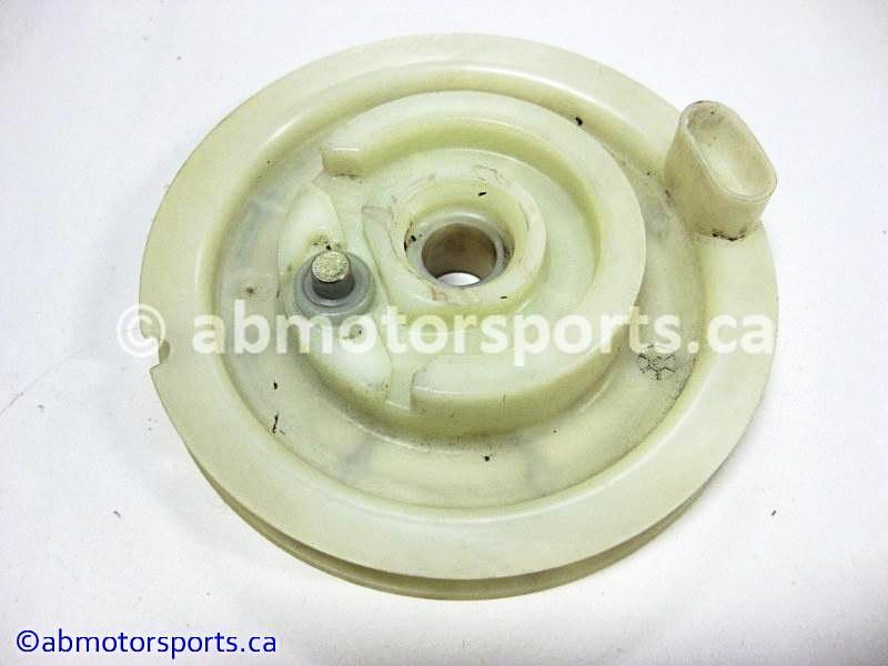 Used Arctic Cat Snow 580 EFI OEM part # 3003-179 recoil sheave for sale