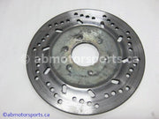 Used Arctic Cat Snow 580 EFI OEM part # 0602-588 brake disc for sale