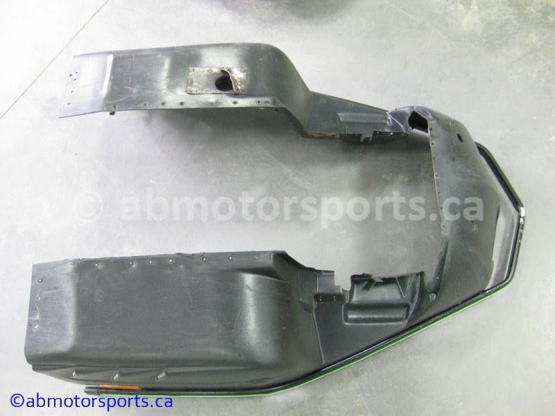 Used Arctic Cat Snow 580 EFI OEM part # 0616-983 belly pan for sale