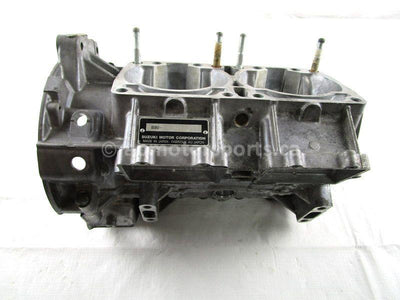 A used Crankcase from a 2010 M8 SNO PRO Arctic Cat OEM Part # 3007-876 Shop online here for your used Arctic Cat snowmobile parts in Canada!
