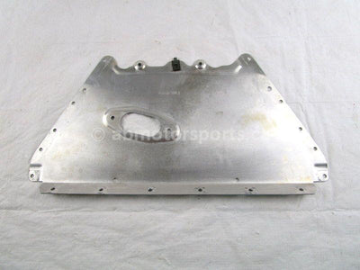 A used Belly Pan Center from a 2014 M8 HCR Arctic Cat OEM Part # 0607-983 for sale. Arctic Cat snowmobile parts? Our online catalog has parts to fit your unit!
