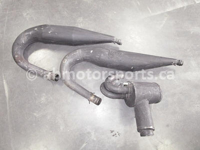 Used Arctic Cat Snow D&D aftermarket exhaust system for sale
