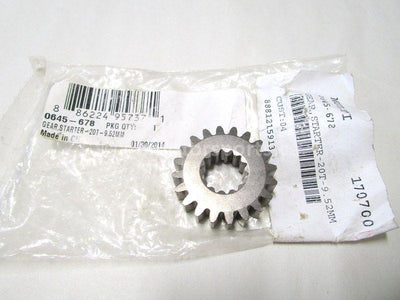 A new Starter Gear 20T for a 2013 M 800 SP Arctic Cat OEM Part # 0645-678 for sale. Arctic Cat parts close to Edmonton? Sure! Shipping across Canada daily.