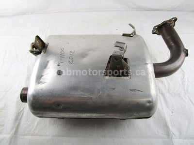 A used Muffler from a 2012 M 1100 TURBO Arctic Cat OEM Part # 1712-760 for sale. Arctic Cat snowmobile parts? Our online catalog has parts to fit your unit!
