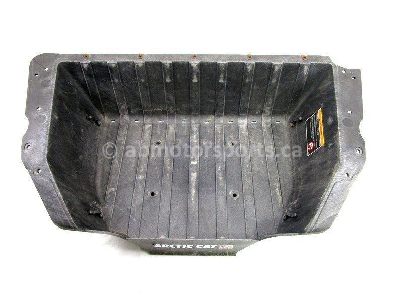 A used Box Bed from a 2014 WILDCAT 1000 X LTD Arctic Cat OEM Part # 4406-167 for sale. Check out our online catalog for more parts!