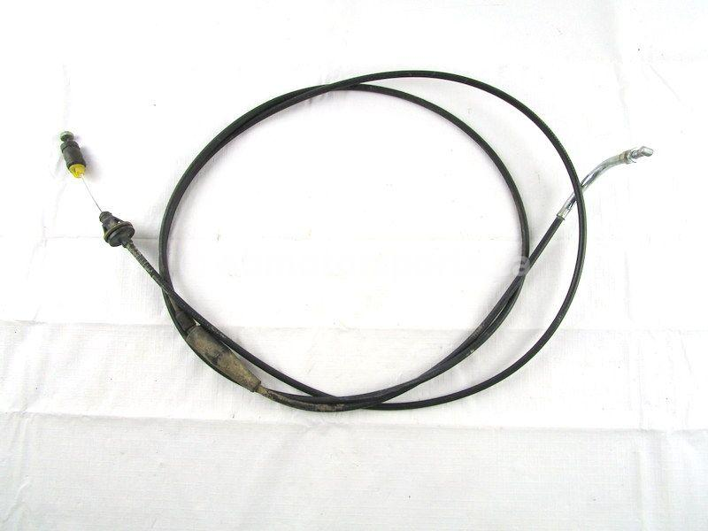 A used Throttle Cable from a 2014 WILDCAT 1000 X LTD Arctic Cat OEM Part # 0487-095 for sale. Check out our online catalog for more parts!