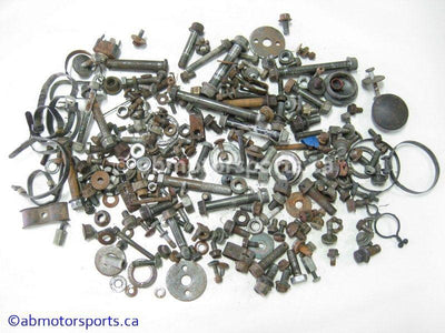 Used Yamaha KODIAK 400 ATV body nuts and bolts for sale