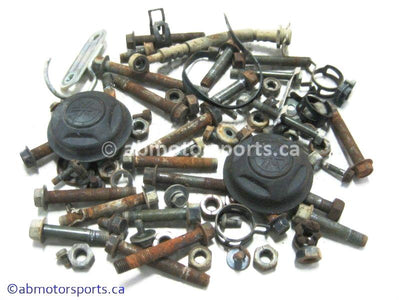 Used Yamaha GRIZZLY 660 ATV body nuts and bolts for sale