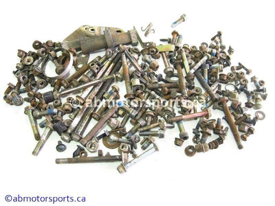 Used Polaris HAWKEYE 300 ATV body nuts and bolts for sale