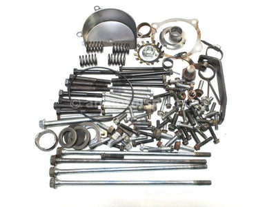 Assorted used Engine Hardware from a 1987 Kawasaki Bayou 300 ATV for sale. Shop our online catalog. Alberta Canada! We ship daily across Canada!
