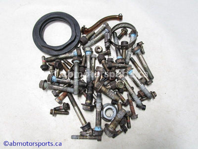 Used Polaris RMK 700 Snowmobile mixed engine and chassis nuts for sale