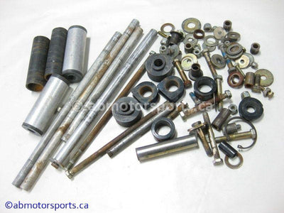 Used Arctic Cat PANTHER DELUXE 400 Snowmobile skid nuts and bolts for sale