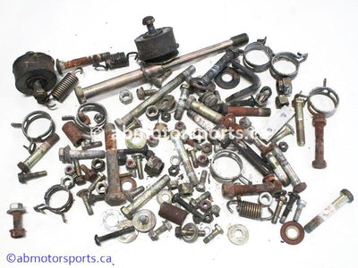 Used Polaris RMK 600 Snowmobile chassis nuts and bolts for sale