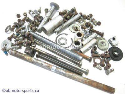 Used Arctic Cat COUGAR Snowmobile skid nuts and bolts for sale