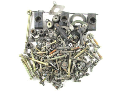 Assorted used Chassis Hardware from a 2012 Polaris RMK PRO 800 snowmobile for sale. Shop our online catalog. Alberta Canada! We ship daily across Canada!