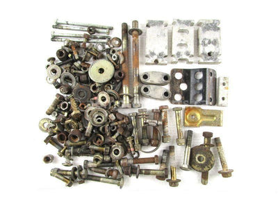 Assorted used Body and Chassis Hardware from a 2000 Polaris RMK 600 snowmobile for sale. Shop our online catalog. Alberta Canada! We ship daily across Canada!
