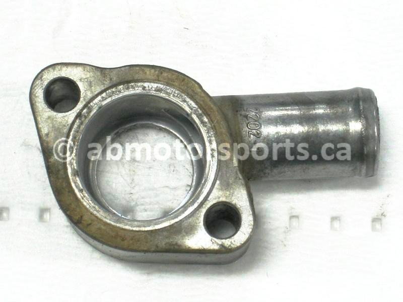 Used Can Am ATV OUTLANDER MAX 800 STD HO OEM part # 420222890 thermostat housing for sale