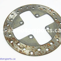 Used Can Am ATV OUTLANDER MAX 800 OEM part # 705600279 front brake disc for sale