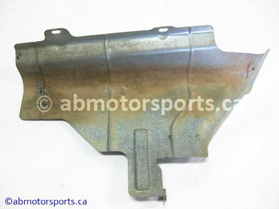 Used Can Am ATV OUTLANDER MAX 800 OEM part # 707600284 muffler heat shield for sale