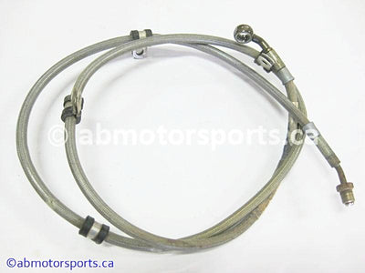 Used Can Am ATV OUTLANDER MAX 800 OEM part # 705600424 rear brake line for sale