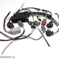 Used Can Am ATV OUTLANDER MAX 800 OEM part # 420664229 engine wiring harness connectors for sale