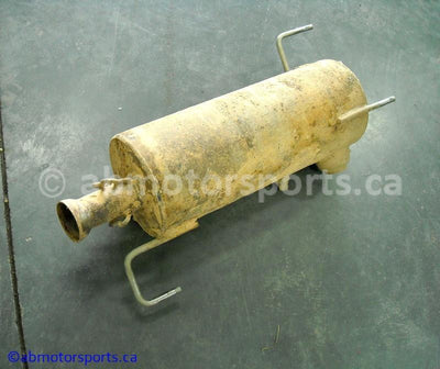 Used Can Am ATV TRAXTER MAX 500 XT OEM part # 707600080 muffler for sale