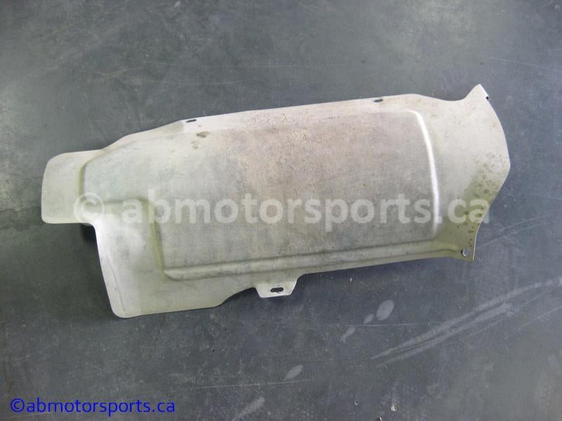 Used Can Am ATV TRAXTER MAX 500 XT OEM part # 707600076 muffler heat shield for sale