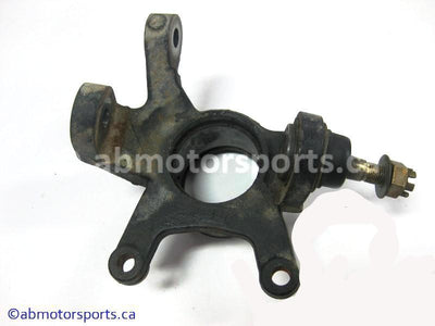 Used Can Am ATV TRAXTER MAX 500 XT OEM part # 709400095 front right steering knuckle for sale