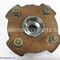 Used Can Am ATV TRAXTER MAX 500 XT OEM part # 705500449 rear right wheel hub for sale