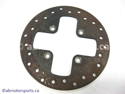 Used Can Am ATV TRAXTER MAX 500 XT OEM part # 705600343 rear brake disc for sale