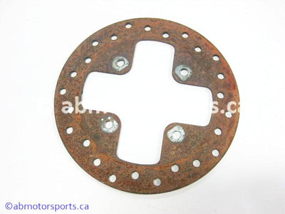 Used Can Am ATV TRAXTER MAX 500 XT OEM part # 705600342 front brake disc for sale