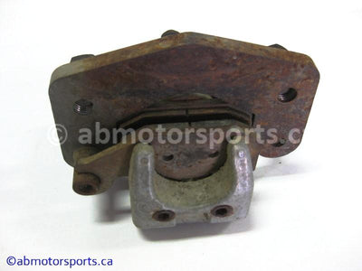 Used Can Am ATV TRAXTER MAX 500 XT OEM part # 705600122 rear right brake caliper for sale