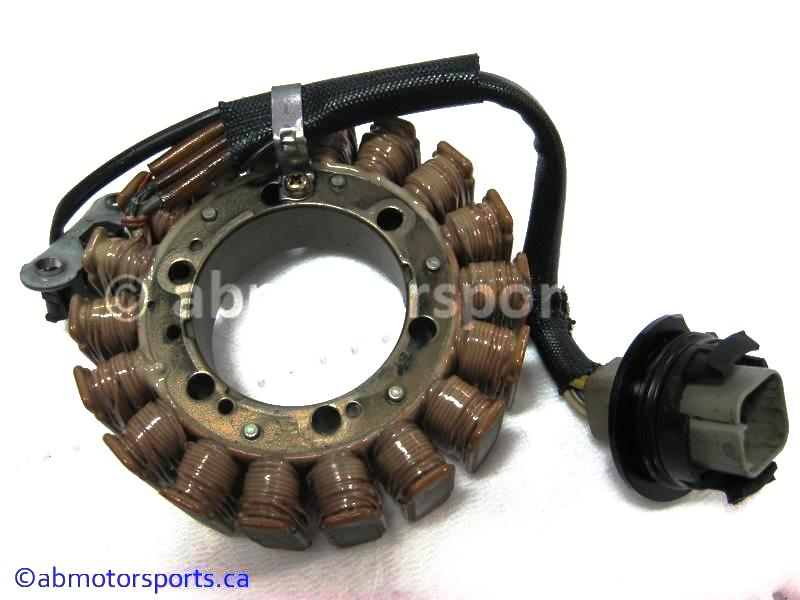 Used Can Am ATV TRAXTER MAX 500 XT OEM part # 420296321 stator for sale