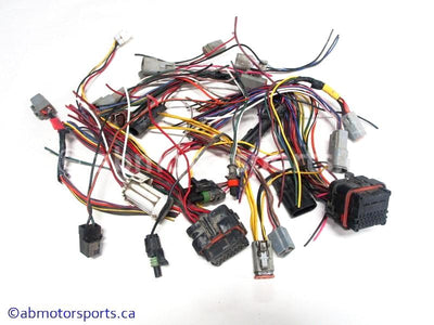 Used Can Am ATV TRAXTER MAX 500 OEM part # 710000436 main wiring harness connectors for sale