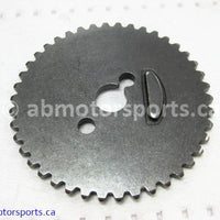 Used Can Am ATV OUTLANDER MAX 400 OEM part # 420254432 cylinder head camshaft gear 42t for sale