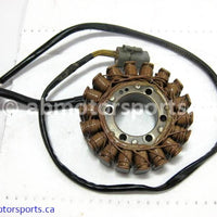 Used Can Am ATV OUTLANDER MAX 400 OEM part # 420684850 stator for sale