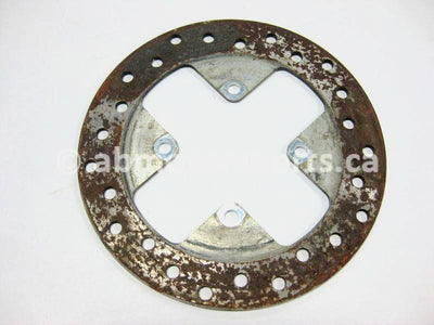 Used Can Am ATV OUTLANDER 800 OEM part # 705600603 front brake disc for sale