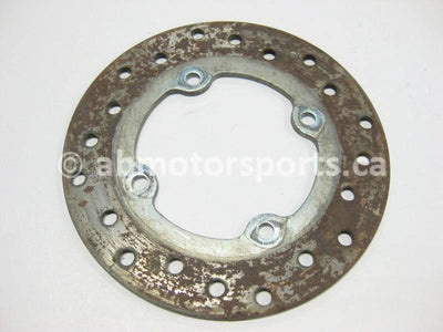 Used Can Am ATV OUTLANDER 800 OEM part # 705600604 rear brake disc for sale