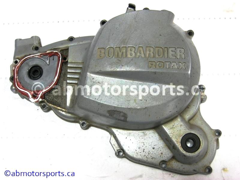Used Can Am ATV DS650 OEM part # 711610120 clutch cover for sale