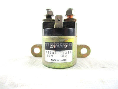A used Starter Relay from a 2003 TRAXTER 500 XT Can Am OEM Part # 710000111 for sale. Check out our online catalog for more parts that will fit your unit!