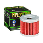 A HF131 Premium Hiflo Filtro oil filter for sale. This filter fits a variety of Suzuki Dirt Bikes. Our online catalog has more new and used parts that will fit your unit!
