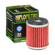 A HF140 Premium Hiflo Filtro oil filter for sale. This filter fits a variety of Yamaha dirtbikes and ATV's. Our online catalog has more new and used parts that will fit your unit!